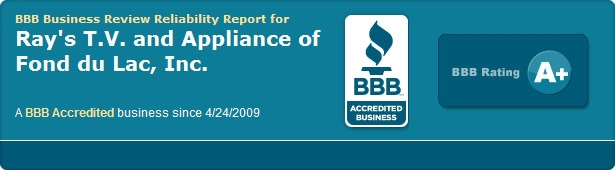 Ray's TV & Appliance Better Business Bureau A+